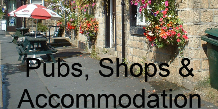 Pubs, Shops & Accommodation
